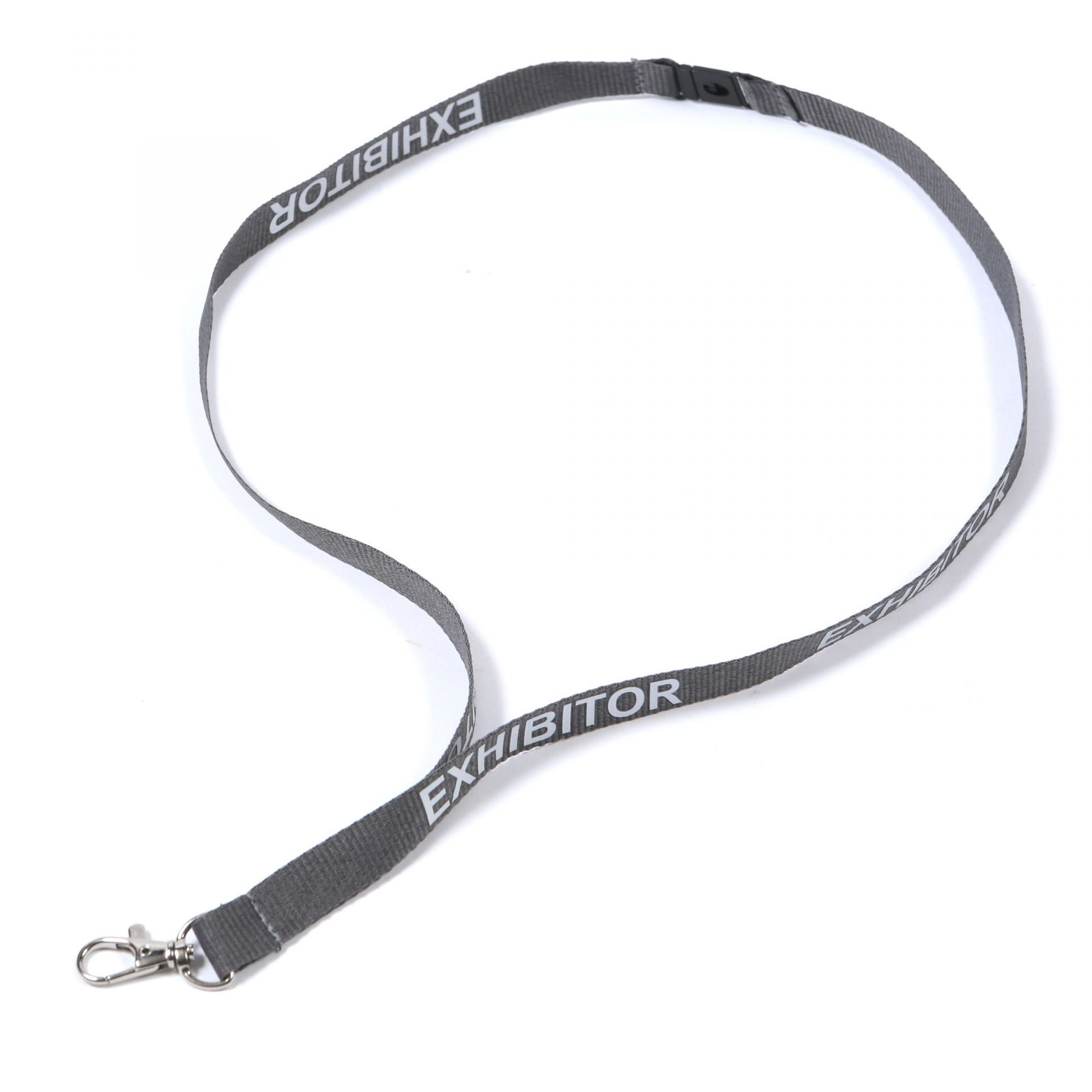 Buy Grey Exhibitor on Lanyards Direct Today!