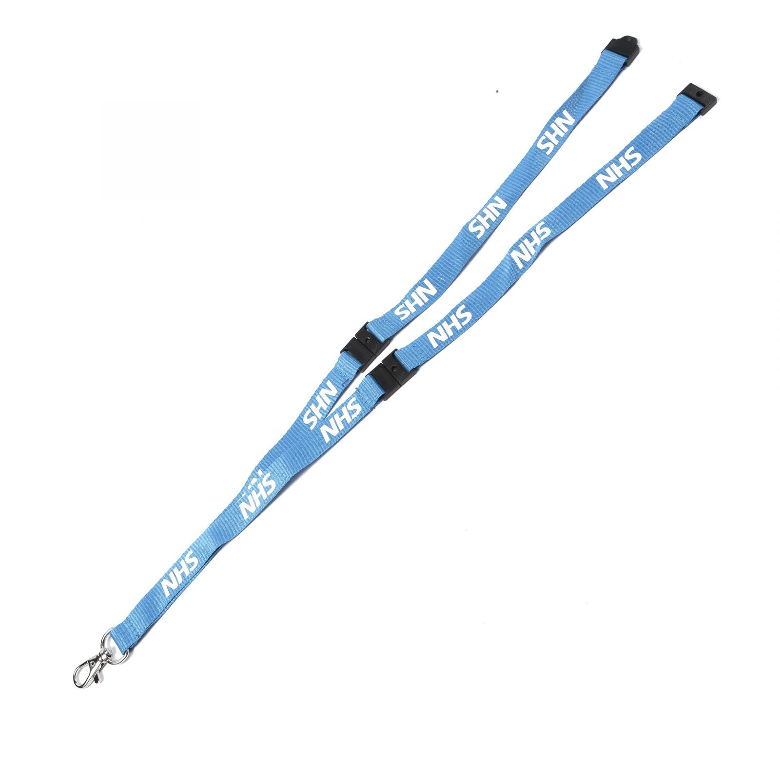 Buy Blue NHS on Lanyards Direct Today!