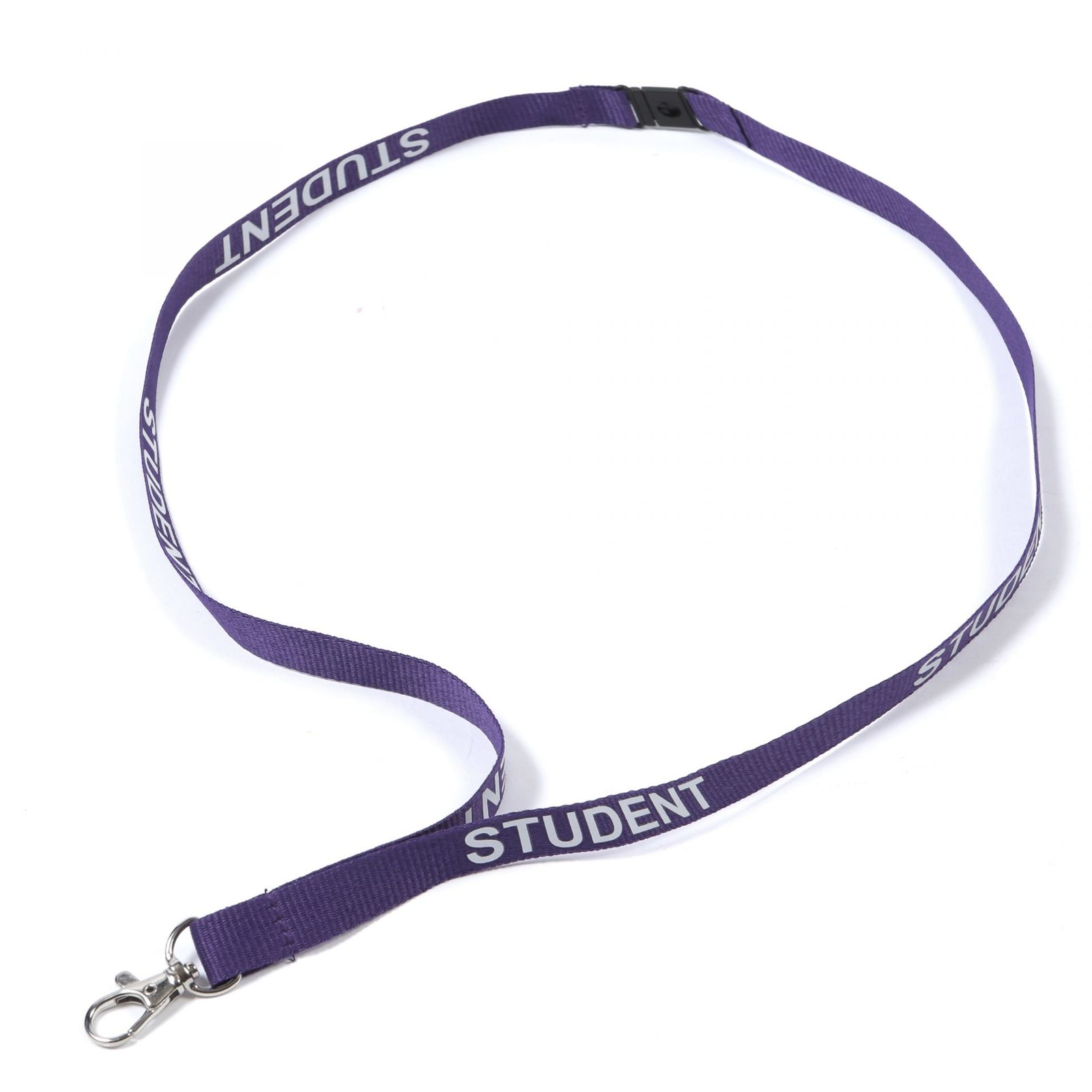Buy Purple Student on Lanyards Direct Today!