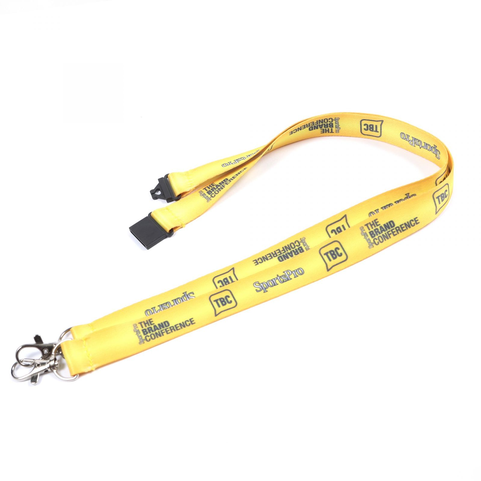 Buy Deluxe Full Colour Double Ended Printed Lanyards on Lanyards Direct Today!