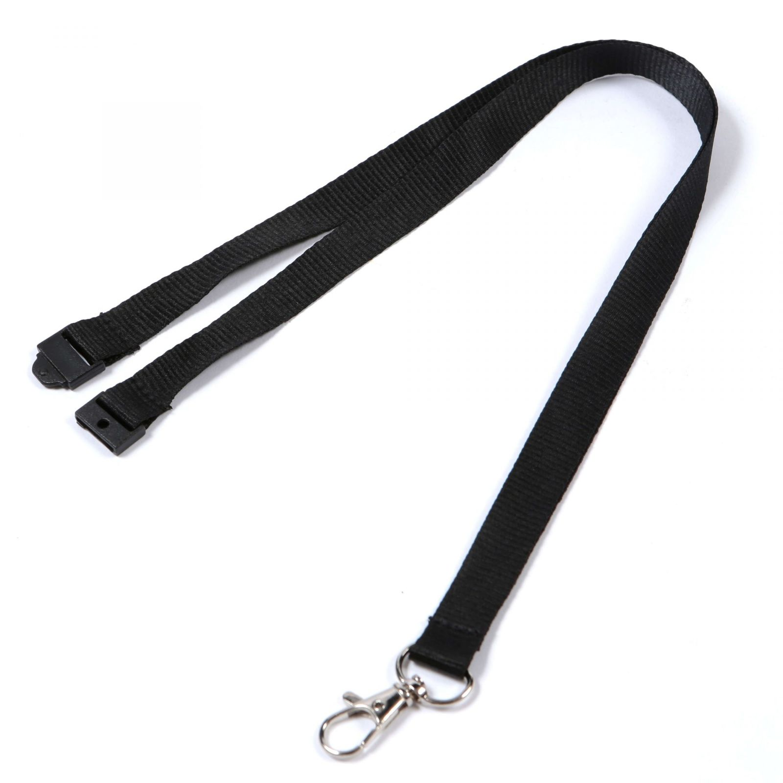 Buy Plain Black Lanyards Same-Day London Delivery on Lanyards Direct Today!