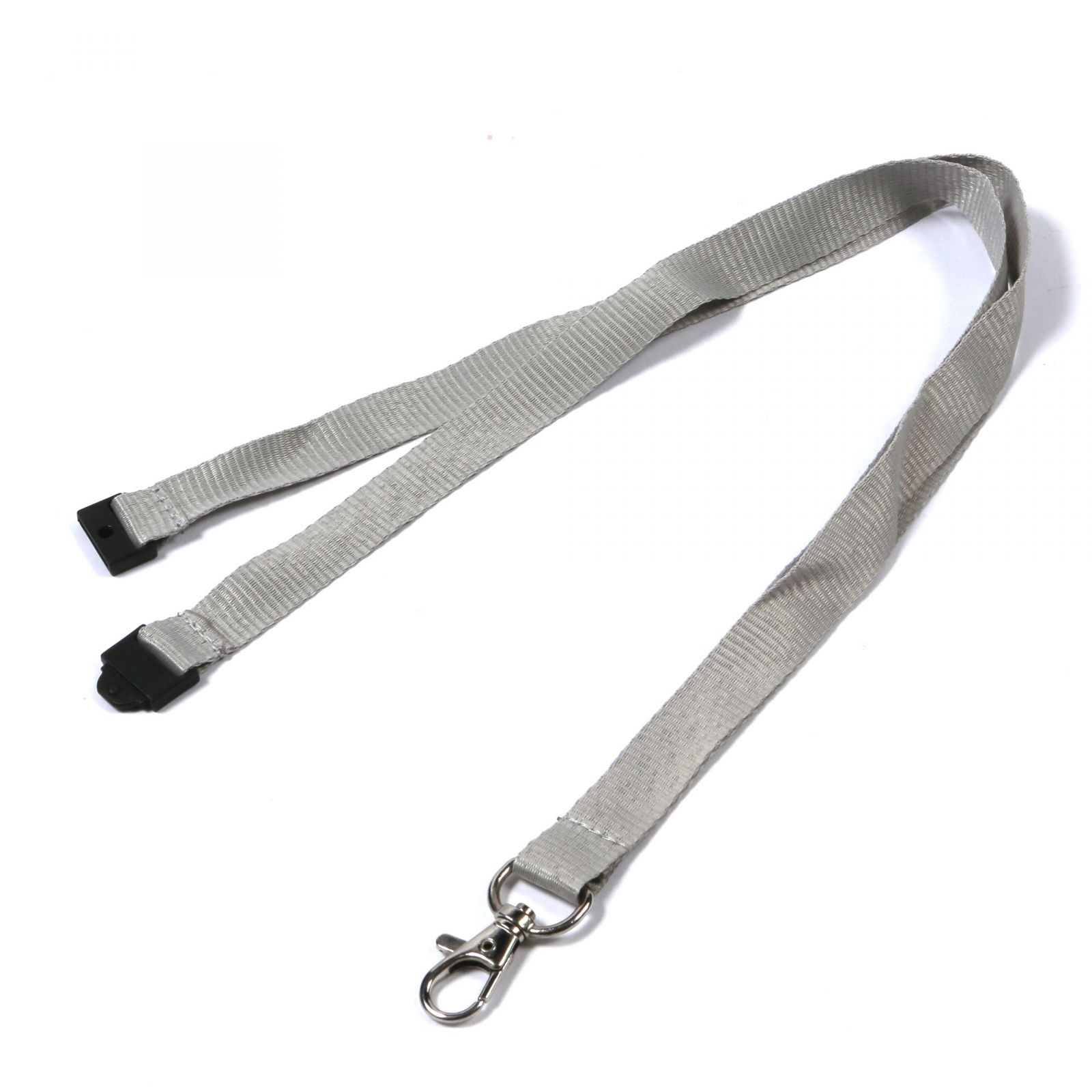 Buy Plain Grey Lanyards on Lanyards Direct Today!