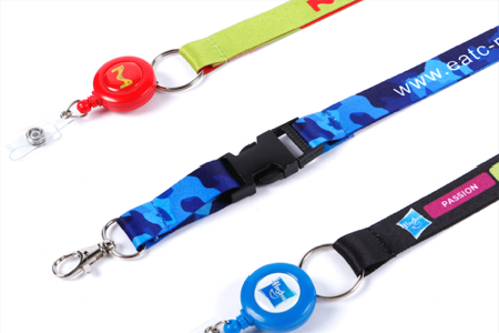 fully customised lanyards and attachments