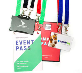Lanyard and ID card assembly service