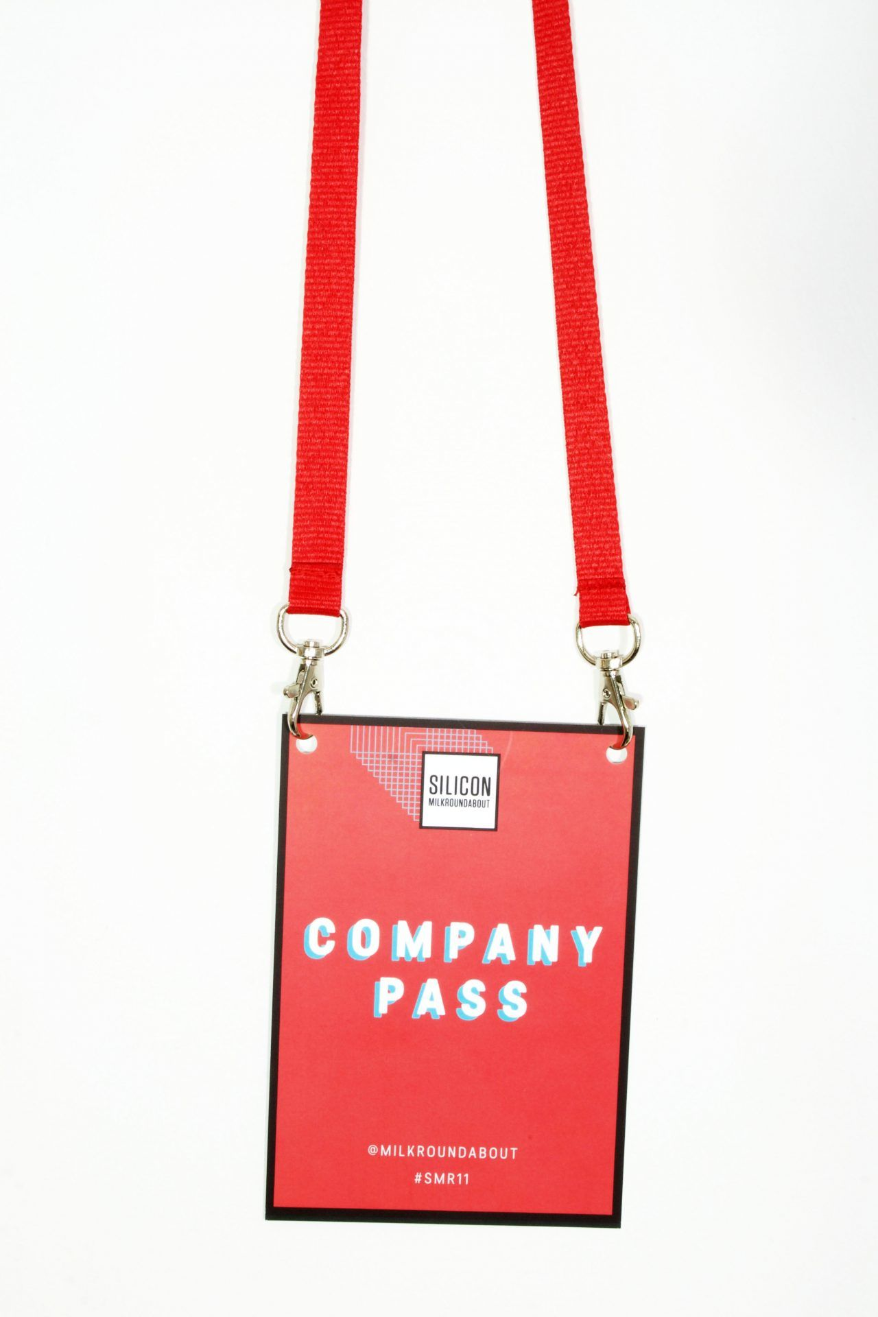 Buy Plain Red Double Ended Lanyards on Lanyards Direct Today!