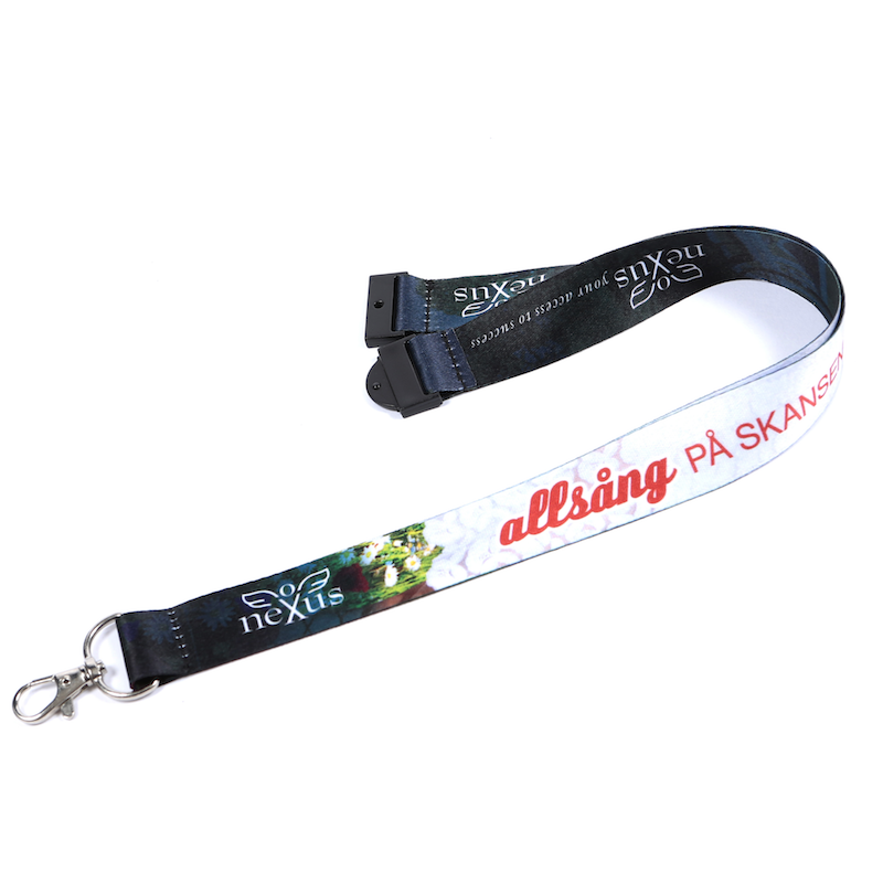 Buy 1000 Deluxe 20mm Printed Lanyards in 6 Working Days on Lanyards Direct Today!