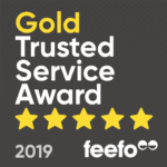 Gold Trusted Service Awarded by Feefo to Lanyards Direct